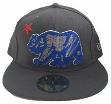 Dissizit! New Era 59FIFTY Fitted Cap California Republic Bear Men's Hat Limited