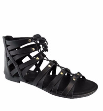 Women's Shoes Sandal  Tie up Pattern Flat Gladiators Summer Casual Foot ware