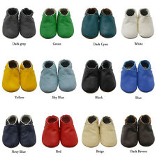 Sayoyo Baby Shoes Cowhide Leather Soft Sole Toddler Infant Walking Moccasins NEW
