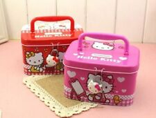 New HelloKitty Metal Money Bank Box Kid Piggy Bank Girl Storage Box w/ Lock L88