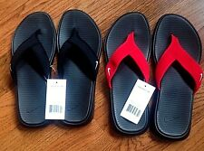 Men's Nike Celso Thong ,Sandals, Flip Flops Black/White or Red/Black