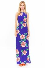 NWT $288 New York Designer YUMI KIM Pure SILK Bloom MAXI Dress