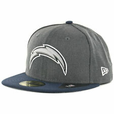 New Era Los Angeles Chargers Shader Melt 2 Graphite/Navy 59Fifty Fitted Hat Cap