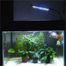 3 Mode Fish Clip Tank Lamp Aquarium 28/48LED White Blue Lights Switch Adjustable