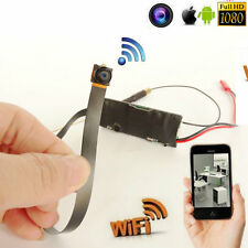 HD 1080p WIFI IP Wireless Network DIY mini pinhole spy camera Hidden Recorders