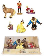 Disney Beauty and The Beast Figure Figurine Play Set Birthday Cake Topper Toy