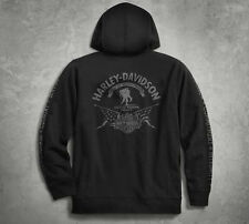 Men's Harley Davidson Wounded Warrior Project Stars & Stripes Hoodie