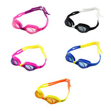 Clear Vision Anti Fog Adjustable Double Belt Swim Goggles Glasses for Child