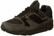 Saucony Originals Mens Grid 9000 Shoes Dk/Green Black S70302-2