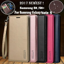 For Samsung Galaxy Note 8 S8+ Magnetic Flip Leather Wallet Case Stand Card Cover