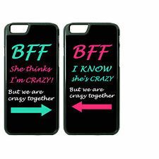 Best Friend Custom Couple Phone Case Cover for iPhone 6 Plus 6s 6 5 5s 4 4s 5SE