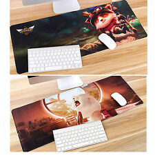 Anti-slip 800*400*2MM Mouse Mat For Computer Gaming Laptop Mousepad Custom-made
