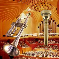 New Trumpet Mouthpiece for Bach 3C/5C/7C Size Silver Plated Musical Instrument