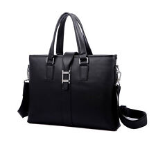 Men's Artificial Leather Handbag Messenger Shoulder Bag Briefcase Laptop