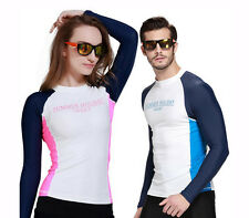 Men Rash Guards Swimming Surfing Diving Scuba Jacket Wetsuit Snorkeling Spearfis