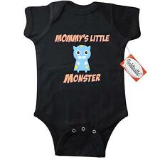 Inktastic Mommys Little Monster Infant Creeper Family Cute Mom Mommy Mother Son