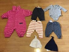 Bundle Baby Gap Trousers, Hats, Reversible Trousers, Nippers 0-3 Months Lot