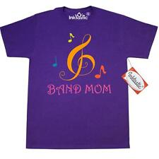 Inktastic Band Mom Treble Clef T-Shirt Marching Music Gift Camp Best T Shirts