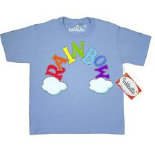 Inktastic Rainbow Letters Youth T-Shirt Children Roygbiv Spelling Fun Clouds Sky