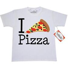 Inktastic I Heart Pizza Youth T-Shirt Chef Love Food Pepperoni Cute Italian Tee