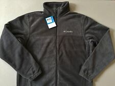 Columbia Steens Mountain 2.0 Gray Fleece Jacket Men's Size L NWT Genuine