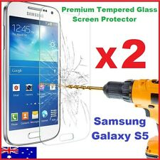 Tempered Glass Film Guard Tough Screen Protector for Samsung Galaxy S5 G900I 4G