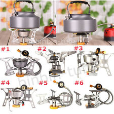 Outdoor Windproof Stove Camping Barbecue BBQ Picnic Cooking Gas Burner Gas Stove