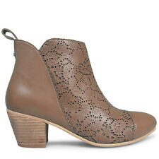 Wittner Ladies Shoes Tan Leather Boots
