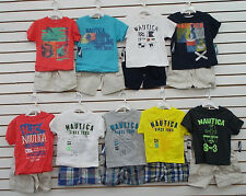 Toddler Boys $44 Nautica Assorted Shirt w/ Shorts 2pc Sets Sizes 2T - 4T