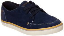 Diesel Mens Yanez Blue Indigo Suede Casual Lace Up Fashion Sneakers Kicks Shoes