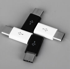 2 PCS USB 3.1 Type C Male Connector to Micro USB Female Converter Type-C Adapter