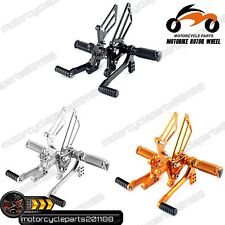 Billet New Rearsets Rear Sets Footpegs Footrests for T595 T509 955i SPEED TRIPLE
