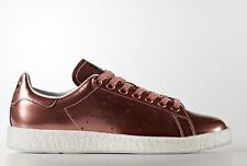 adidas Originals Women STAN SMITH BOOST SHOES,COPPER/WHITE-Size US 8,8.5,9 Or 10