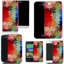 motif case cover for various Popular Mobile phones - jigsaw