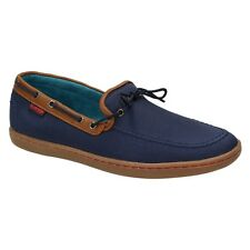 "Monkfish Men's Shoes ""Deck Trainers"" Boat shoes Loafers Boat Shoes Blue/Navy"