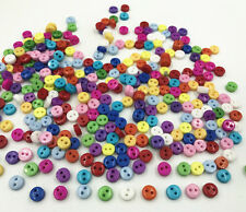 Mixed Colors Various shapes Resin Buttons 2 holes sewing scrapbooking