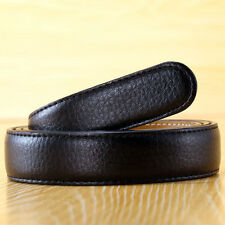 2.4CM Ladies Genuine Leather Belt No Buckle Slim Waistband For Automatic Buckle