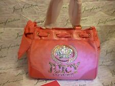 NEW JUICY COUTURE CROWN CREST VELOUR MINI DAYDREAMER WHB15 ~ NWT