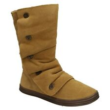 Blowfish Rammed FURR Ladies Shoes Winter Boots Leather Leisure padded