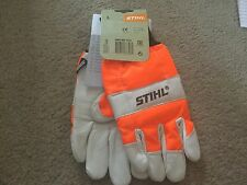 Stihl Standard Chainsaw Gloves Cut Protection Large 0000 883 1510 Leather