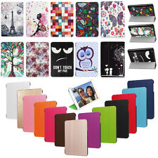 Leather Folding Stand Case Cover For 2017 Amazon Kindle Fire HD 7 Inch Tablet