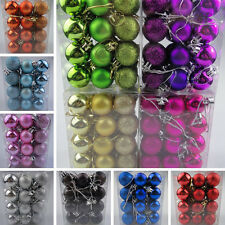 24pcs Christmas Tree Xmas Balls Decorations Bauble Home Party Wedding Ornament