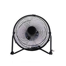 8'' Air Circulator Desk Fan Mini Mute Metal Cooling Fan Laptop USB Protable Fan
