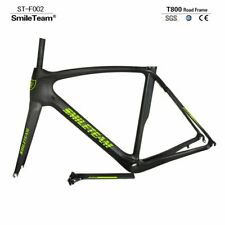 700C Matt Carbon Bike Frame Fiber Road Racing 50/53/55/57cm Bicycle Frame Fork