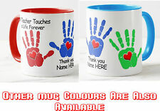 Personalised Mug Cup Teacher Nursery School Thank You Gift Your Text name