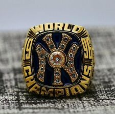 New York Yankees 1996 World Series Championship Copper ring Size 8-14 Solid Back