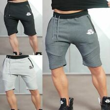 Mens Sport Workout Jogging Shorts Athletic Running Gym Fit Stretch Short Pants