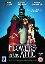 Flowers In The Attic DVD Louise Fletcher Victoria Tennant UK Rele New Sealed R2