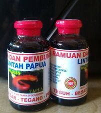 2X 25ml Lintah Tapa Papua Leech Oil, Minyak Lintah Tapa Enlargement & Erection