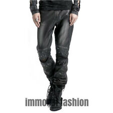 Punk Rave Steampunk Apocalypse Pants - Silver [Special Order] - Gothic,Goth,Rock